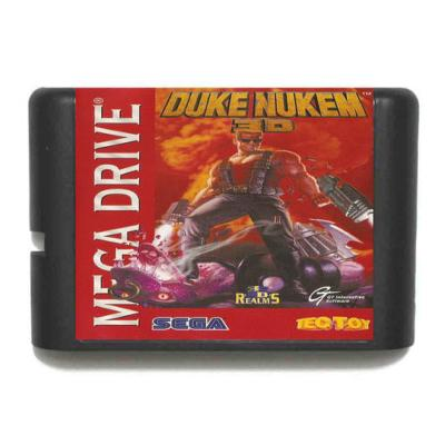 Duke Nukem - Sega Mega drive kazeta NOVÁ