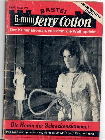 Die Herrin der Schreckenskammer - Cotton