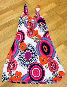 K.R.Á.S.N.É. šaty styl DESIGUAL vel.UNI!!!