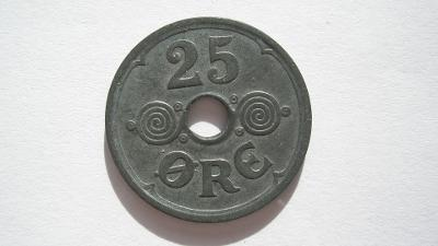 Dánsko 25 öre 1942