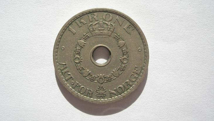 Norsko 1 koruna 1927 - Numismatika