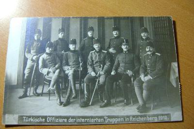 Liberec-armáda ,Turci v zajatí, 1912
