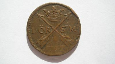 Dánsko 1 Öre S.M. 1747