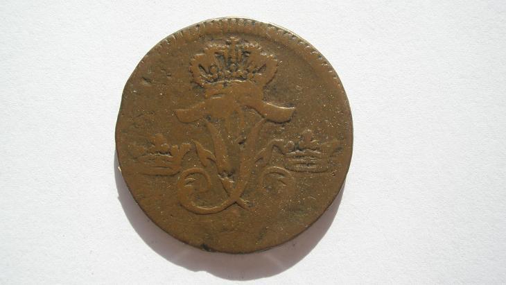 Dánsko 1 Öre S.M. 1747 - Numismatika