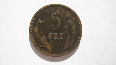 Dánsko 5 Öre 1898