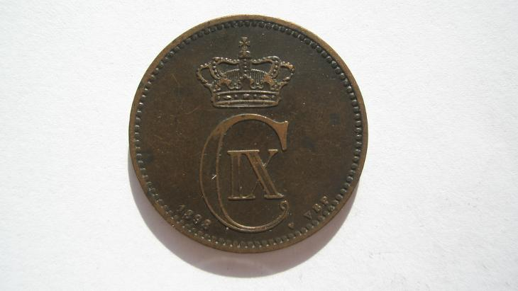 Dánsko 5 Öre 1898 - Numismatika