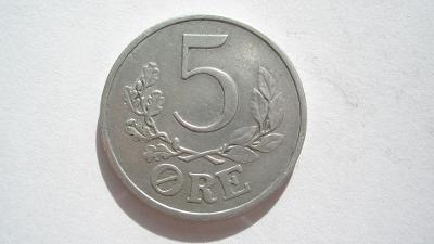 Dánsko 5 Öre 1941