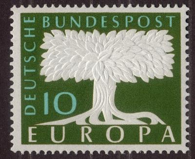 Německo 1957 Evropa CEPT Mi# 268 1195