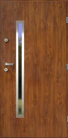 Venkovní vchodové dveře LISA PLUS - 55 mm v 3 barvách