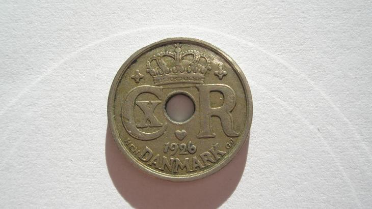 Dánsko 10 ore 1926 - Numismatika