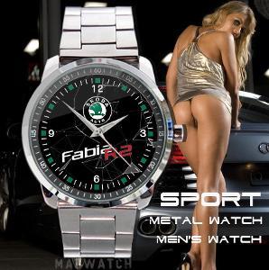 Skoda Auto Fabia R2 Sport logo nerezová ocel
