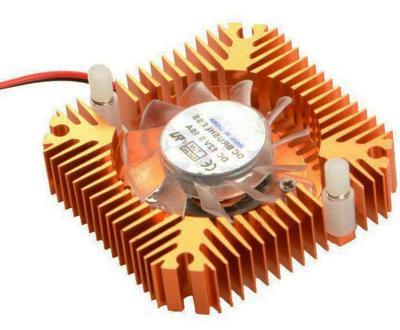 ARD-CH-025 Chladič 5,5x5,5x1,2cm s ventilátorem