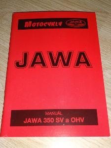 MANUÁL JAWA 350 SV a OHV MOTOCYKLY