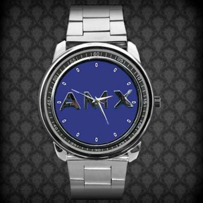 1970 AMC AMX Classic Logo - hodinky nerezová oce