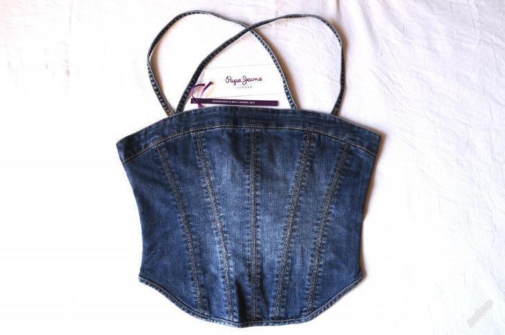 9ed7dc9ebd7 VÝPRODEJ! Nový dámský džínový top Pepe Jeans S
