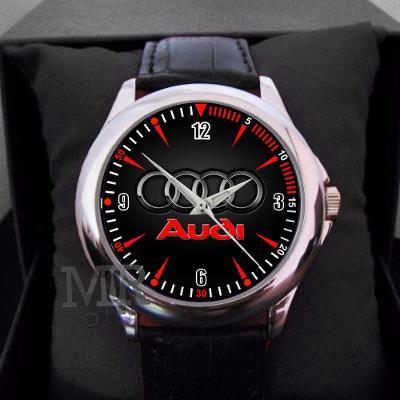 AUDI Sport Logo - hodinky kožený pásek