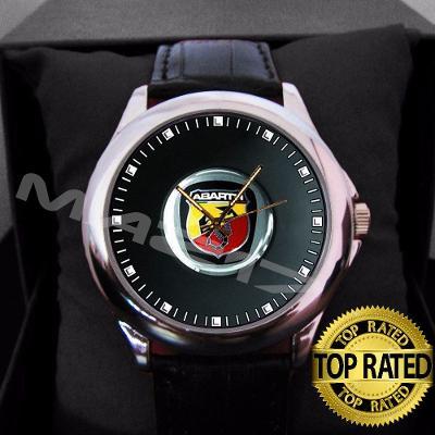 Abarth Logo - hodinky kožený pásek