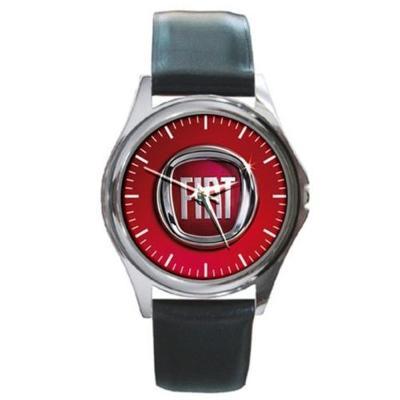 FIAT Logo - hodinky kožený pásek