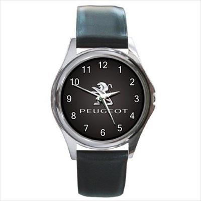 Peugeot Car logo - hodinky kožený pásek 2 druhy