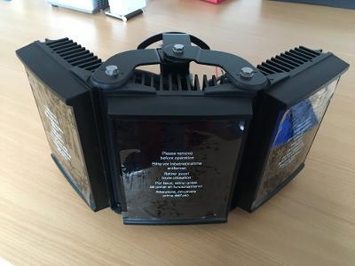 Infrareflektor RAYMAX PLATINUM, úhel 50-150°