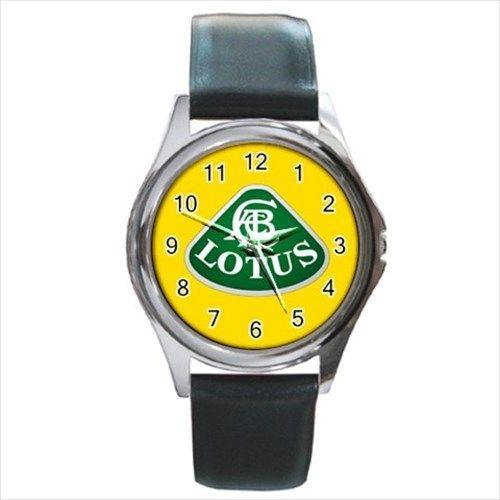 Lotus Sport Car Logo - hodinky kožený pásek - Módní doplňky