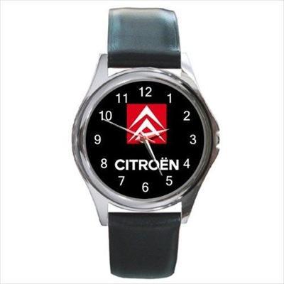 Citroen Automobile Car Logo - hodinky kožený pásek