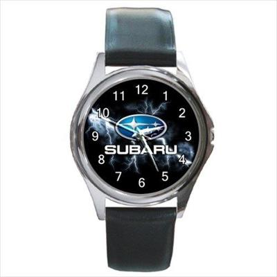 Subaru Car Sport Logo - hodinky kožený pásek