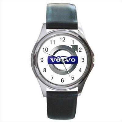 Volvo Car Automobile Logo - hodinky kožený pásek