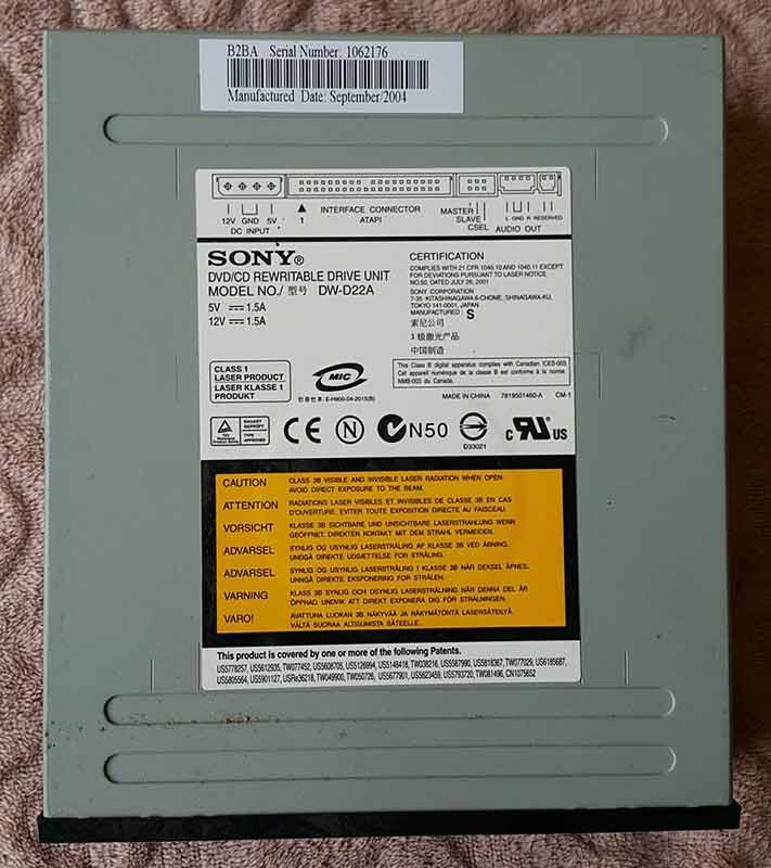 DVD RW D22A DRIVER FOR WINDOWS 8