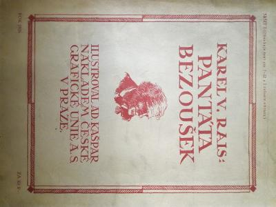 K. V. Rais. Pantáta Bezoušek. 1926, brož. 12 čísel