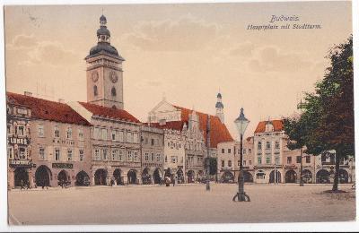 České Budějovice 1913 (Třeboň Vodňany Trhové Sviny