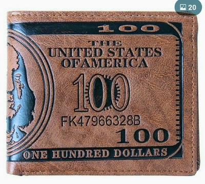 Nová pánská kožená peněženka + drobný dárek