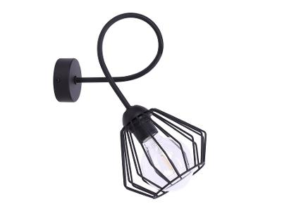 EDISON 1 LOFT - nástěnné industriální svítidlo lustr světlo