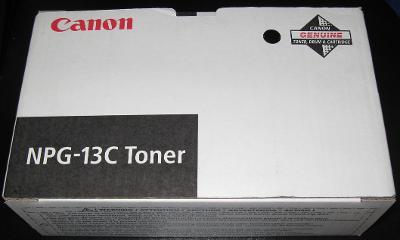 Toner Canon NPG-13C - originální