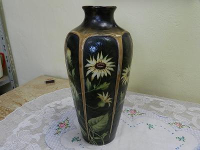 Krásná secesní obří Váza Dubí Eichwald Rakousko
