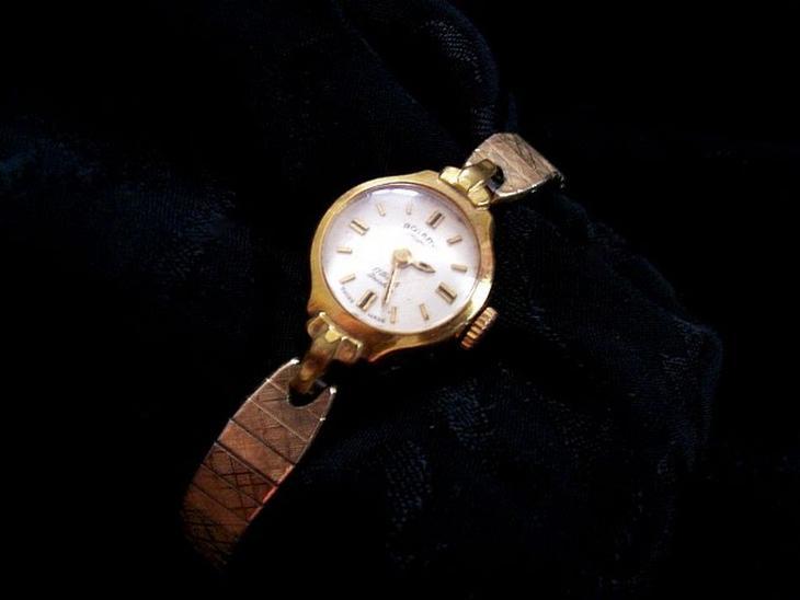 Švýcarské hodinky ROTARY dámské zlacené r. 1950-70 (6934439649) af74d73885f