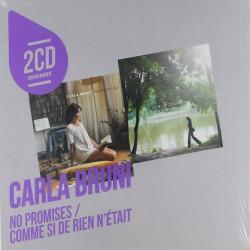 Carla Bruni - No promises-Comme si de rien netait, 2CD, 2015