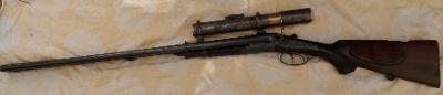 OBOJETNICE kulobrok Lancaster NOWOTNY PRAGUE deko + puškohled optika