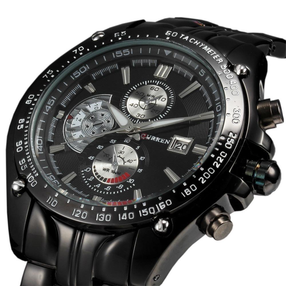 985cefe0c Hodinky CURREN No.8083 - elegantní pánské hodinky | Aukro