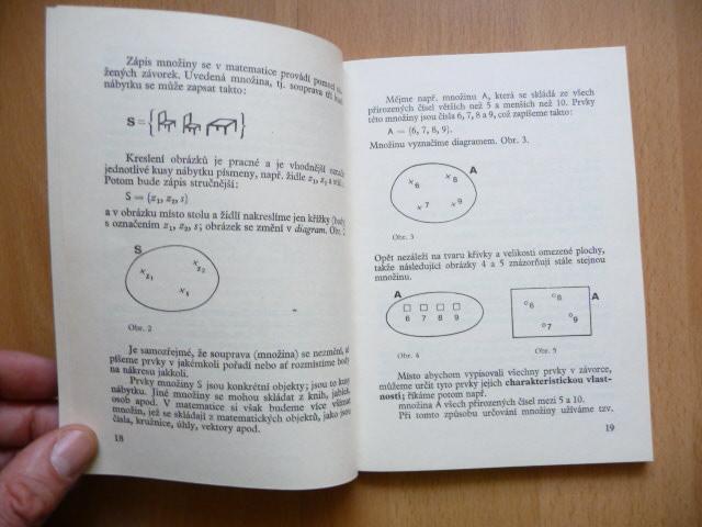 Mnoziny 1 Milos Jelinek Spn 1980 Aukro