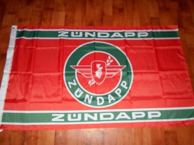 VELKÁ vlajka Moto veteran ZUNDAPP-1