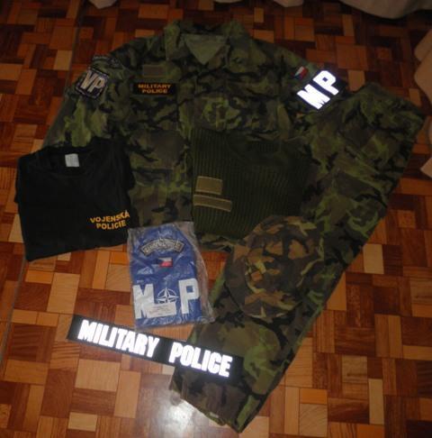 komplet uniforma VP AČR vz.95 a doplňky (6938477172) 6a2e05db3e