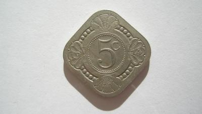 Holandsko 5 cent 1914