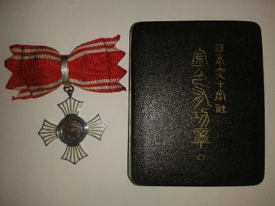 Japonsko Red Cross Záslužný kříž ženský (LP-25)