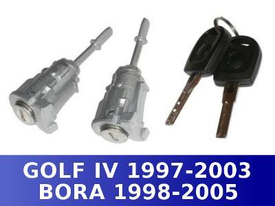 vložka zámek dveří VW BORA GOLF IV levá pravá párů