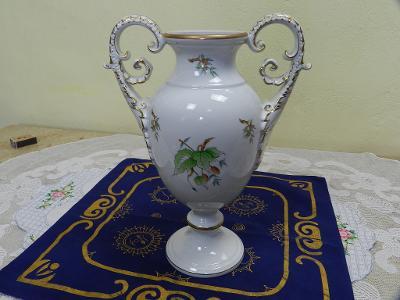 Ručně malovaná zlacená Váza Amfora Herend Hungary
