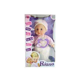 Panenka - miminko se zvuky Riana AKČNÍ CENA !!!