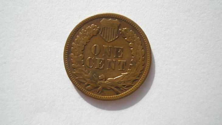 USA 1 cent 1884 - Numismatika