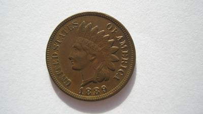 USA 1 cent 1889