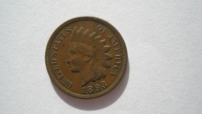 USA 1 cent 1893
